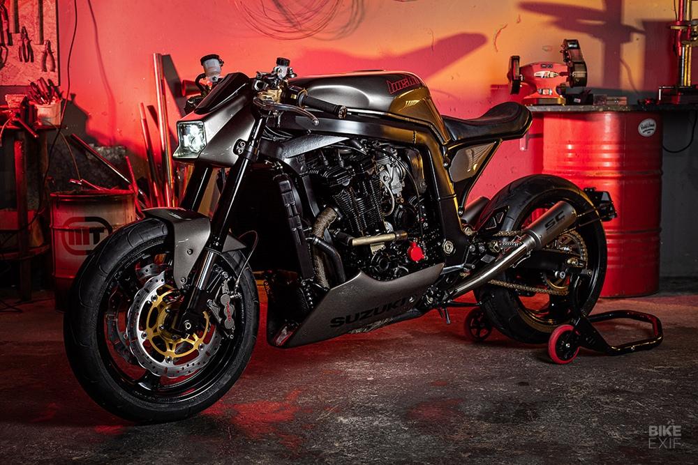 Rusty Wrench Motorcycles: кастом Suzuki GSX-R1100 Bushido