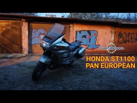 Капсула времени. Обзор Honda ST1100 Pan European.