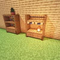 идеи для украшения комнаты в майнкрафт #7