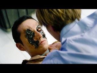 Grace vs Rev-9 (Factory Fight) | Terminator: Dark Fate [UltraHD, HDR]