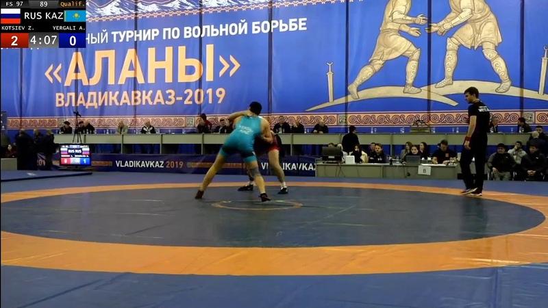 97кг Знаур Коциев (Алания) - Алишер Ергалы (Казахстан)Аланы2019 40