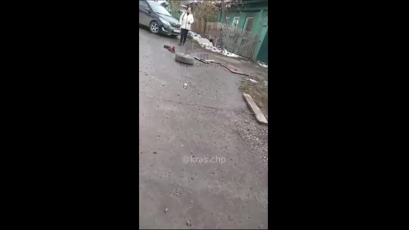 Бетономешалка сорвалась с ручника Красноярск