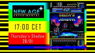 """Delta's Shadow from SincLAIR and Sanches Crew in ZX Spectrum show """"New age - Experimental"""". Cont."""