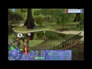 Let's play.Играем вместе в Sims Истории Робинзонов.#4 Вечеринка