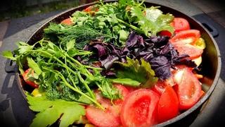ДЫМЛЯМА, ДУМЛЯМА, ДОМЛЯМА! Мясо тушеное с овощами в собственном соку БЕЗ ДОБАВЛЕНИЯ МАСЛА! ENG SUB