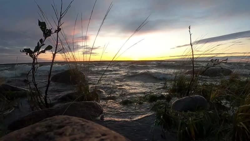 Закат в проливе