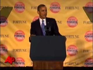 У Барака Обамы отвалился... герб