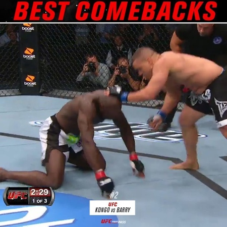 UFC Fight Pass on Instagram 2 @kongo4real KOs @hypeordie at UFC Live VS 15 @neil magny170 TKOs @hectorlombard at UFC Brisbane What's the BestComeback in MMA…""
