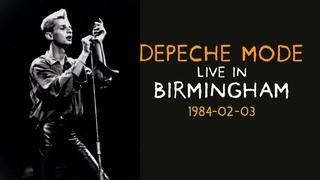 Depeche Mode ► Live in Birmingham 1984 ► CONSTRUCTION TIME AGAIN TOUR