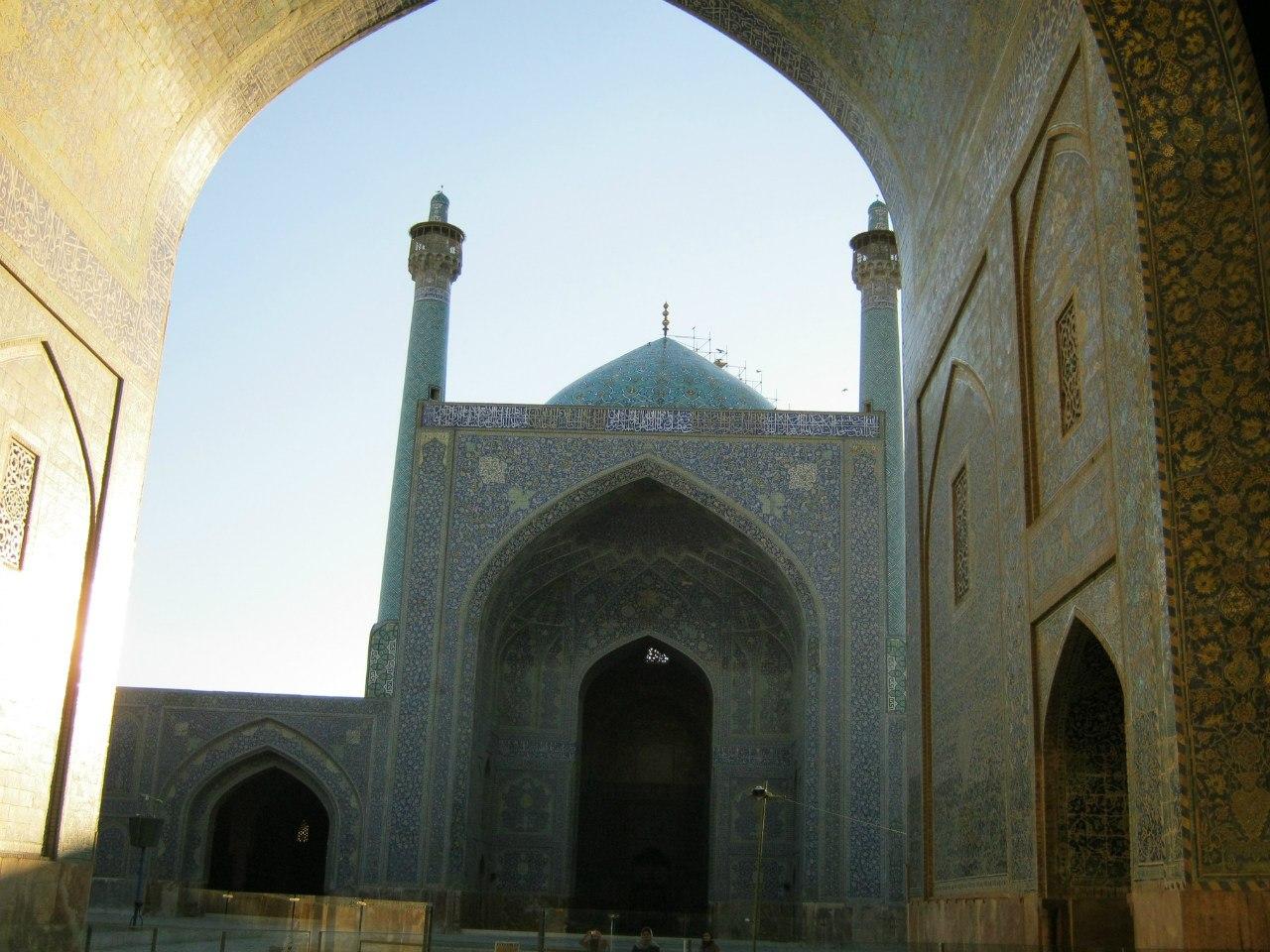 мечеть на базаре в Исфахане