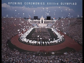 Los Angeles 1984 Olympic Opening Ceremony Broadcast  #84SummerOlympicsLA