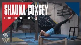 Shauna Coxsey's conditioning training | Workout Wednesday