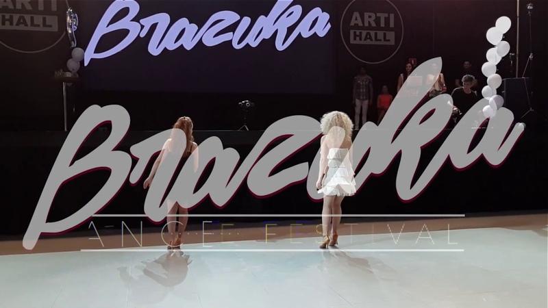 BRAZUKA DANCE FESTIVAL 2019 Anikas Irina Privalova Samba Carnival SHOW