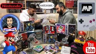 Ηunter Vlog #12  Game Boy accessories και multiplayer feat Dennis Sourvanos
