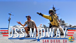TOURING THE USS MIDWAY AIRCRAFT CARRIER DURING COVID-19 PANDEMIC | San Diego, CA Travel Guide