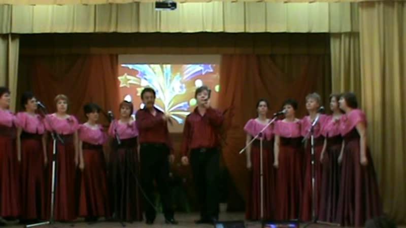 Н.Осинкин, М.Власов и вокальный ансамбль Бабье лето - Москва! (8 мая 2014)