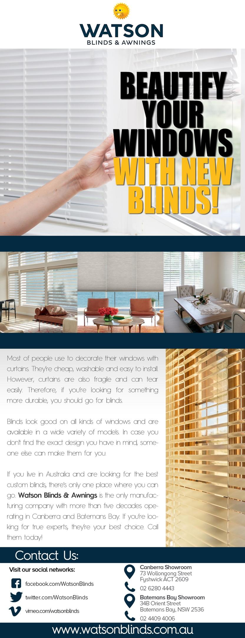 Wide Range of Window Furnishings