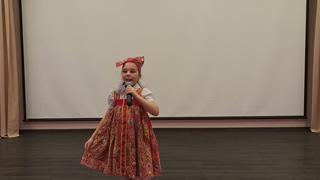 Соколова Светлана, Г.Стерлитамак, «Солист» (народный вокал), 6-9 лет, 2 произведение
