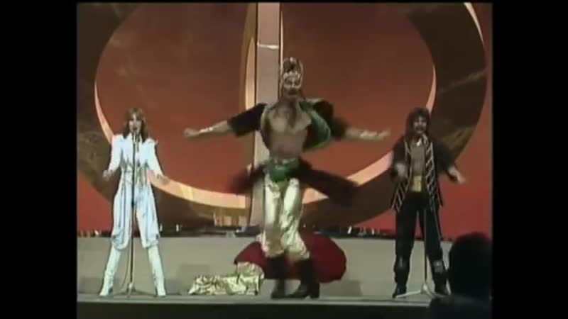Dschinghis Khan Germany 1979 Eurovision Songs with live orchestra
