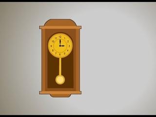 Часы с маятником. Познавательная лекция для детей