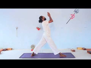 Vinyassa Kriya - Yoga Teacher Training - immune strengthening - balance Root Chakra -7min practice