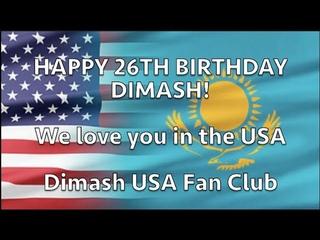 Dimash! Happy 26th Birthday! May 24, 2020