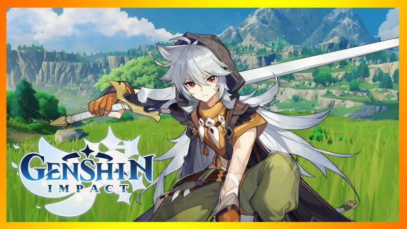 7 Genshin Impact Белый Волк приключения библиотекаря и кулинарная битва U^ェ^U