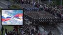 Pregled vojne parade Korak pobednika