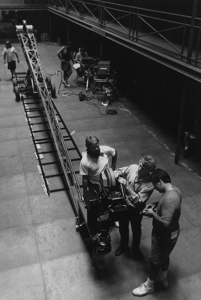 На съемочной площадке «Побега из Шоушенка», 1993 год