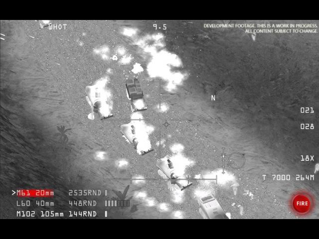 AC-130 Gunship Simulator - Convoy engagement