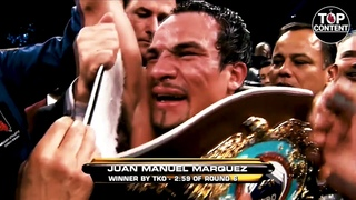 Лицом вперед... Этот НОКАУТ - КОШМАРНЫЙ сон для Пакьяо. Мэнни Пакьяо - Хуан Мануэль Маркес (4й бой)
