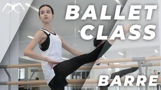 Maria Khoreva - ballet class (barre)
