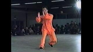 Démonstration de Bagua Zhang par Maître Kunlin Zhang, journée des Arts Martiaux 1995