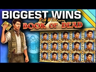Book of Dead - Top 10 Biggest Slot Wins on Book of Dead
