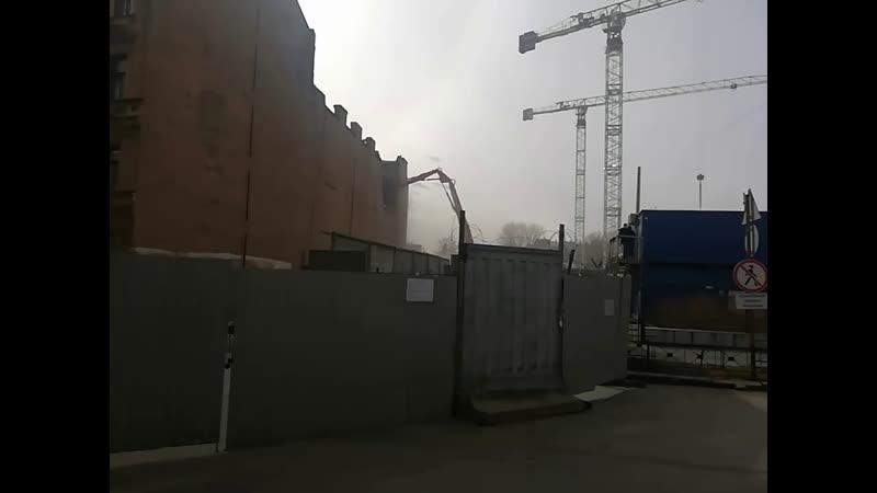 Снос исторических зданий на Тележной улице
