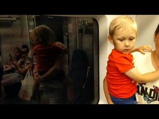 """Сочи. Поездка на электропоезде """"Ласточка"""" Роза Хутор - Сочи / Rosa Khutor - Sochi."""
