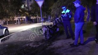 Ночью, после погони, задержан на скутере Vento в Сургуте