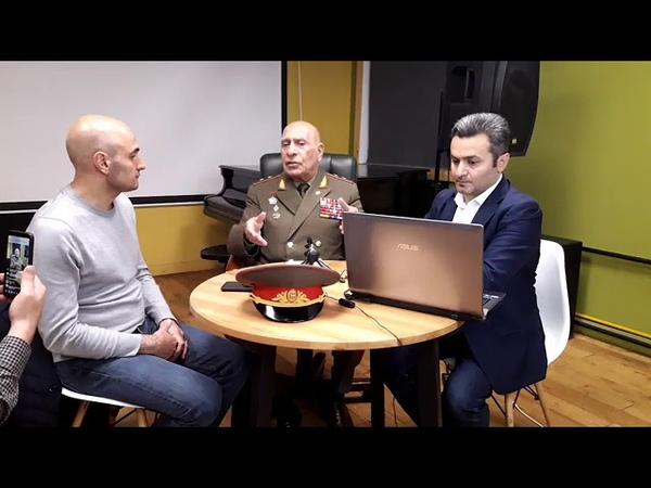 Военный эксперт генерал Норат Тер Григорьянц о преступлениях Азербайджана и Турции в Карабахе Часть2