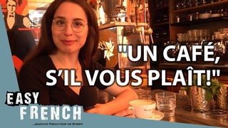 How to Order Coffee in a French Café   Super Easy French 75