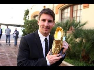 DIRECTE - Lliurament de la Bota d'Or 2012/13 a Leo Messi