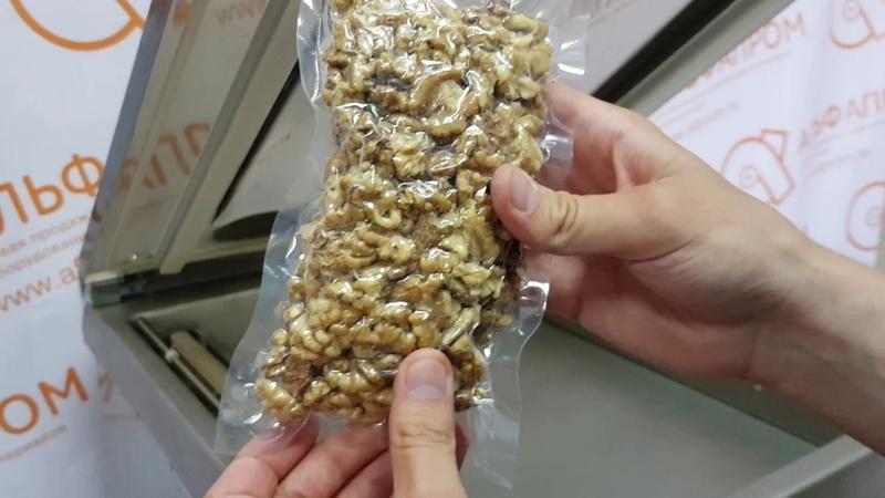 Вакуумирование грецких орехов