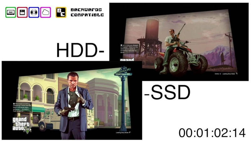 Playstation 3 HDD vs SSD comparison Backwards Compatible