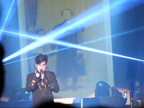 Adam Lambert - Sleepwalker - 6/11 ~ Mahnomen, MN - w/ rose kick
