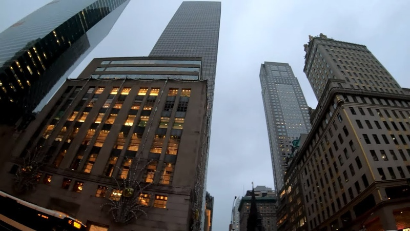 ⁴ᴷ⁶⁰ Walking NYC Narrated Fifth Avenue from 60th Street to 23rd Street Flatiron Building