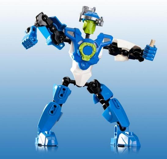 Игрушечный робот с дистанционным управлением может использовать радиочастотный сигнал передачи.