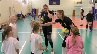 """Мастер-класс по волейболу команды """"Северянка"""" для детей 2007 года рождения"""