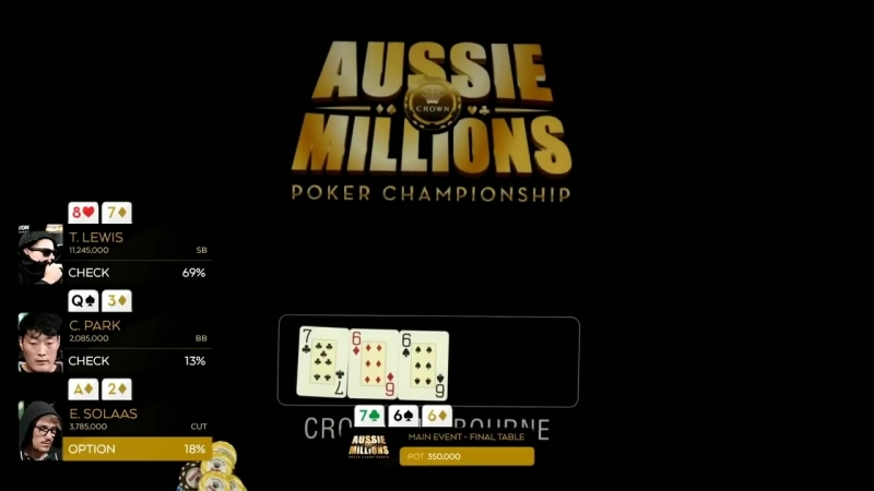 Best poker moments of bluffing at Final Table Aussie Millions 2018