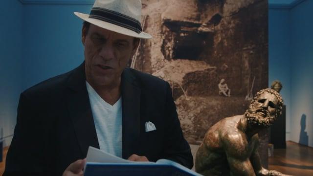 Gabriele Tinti@Robert Davi reads The Boxer Part I Getty Museum