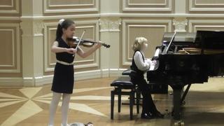 Концерт учащихся 2 класса ЦМШ. Елисей Мысин и Полина Корсун