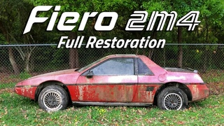 3 Year Timelapse - Fiero Restoration | Abandoned for 20 Years
